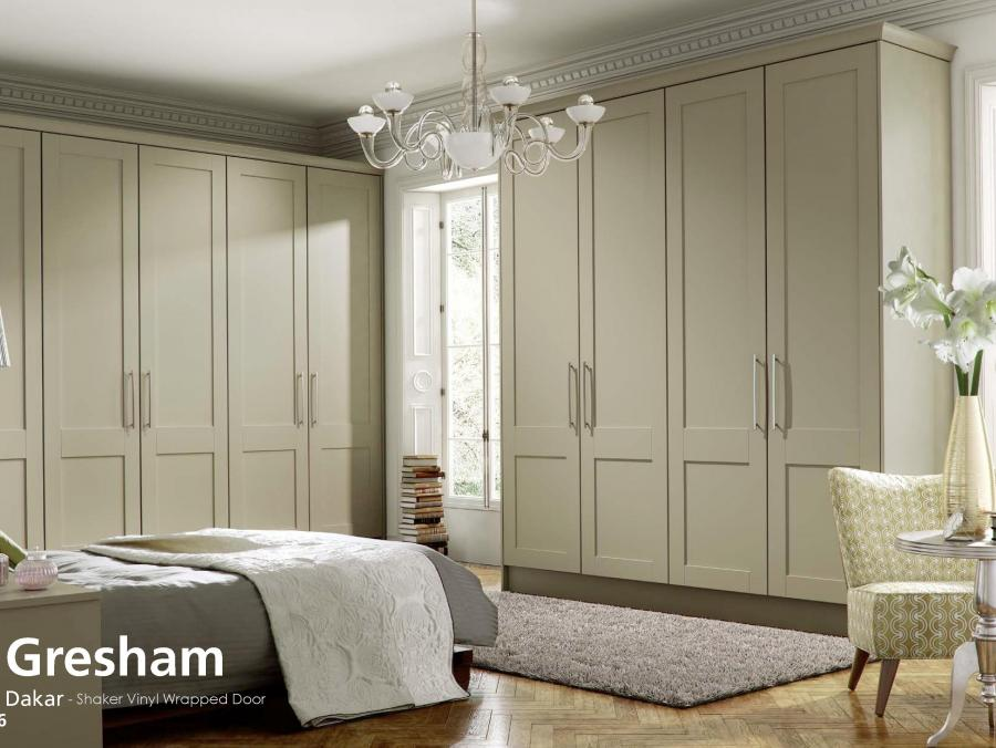 Gresham - Dakar - Shaker Vinyl Wrapped Door