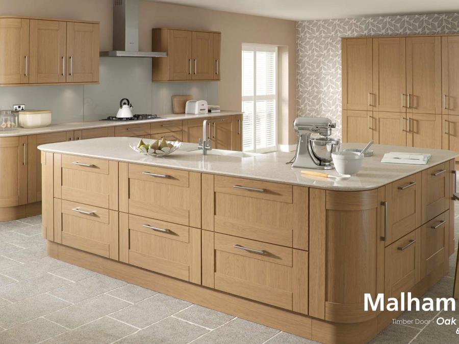 Malham - Timber Door Oak