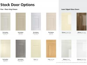 Stock Door Options (1 of 2)